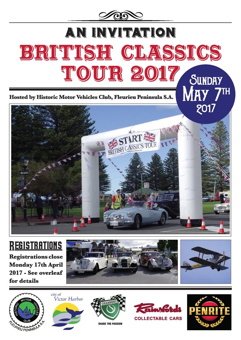 British Classics Tour Victor Harbor